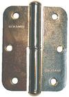 Петля накладная ПН1-130, с полимерным покрытием, левая (Россия) (шт.)