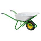 Тачка садово-строительная, усиленная, грузоподъемность 200кг, объем 90 л// PALISAD