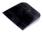 Шпатель резиновый чёрный, 100мм (шт.)