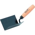 Кельма угловая, 110 х 75 х 75 мм, стальная, для внутренних углов, буковая ручка// СИБРТЕХ