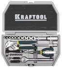 """Набор слесарно-монтажного инструмента, 38 предмета, компактный, 1/4"""" KRAFTOOL """"INDUSTRY"""""""