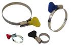 Хомуты металлические элемент крепления с формой ключа 20-32 мм, 50 шт/уп // ШУРУПЬ