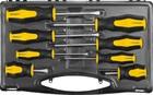 """Набор STAYER """"MASTER"""" HERCULES: Отвертки , Cr-V, эргономичная двухкомпонентная рукоятка, 8шт"""