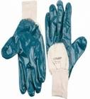 """Перчатки ЗУБР """"МАСТЕР"""" рабочие с манжетой, с нитриловым покрытием ладони, размер M (8)"""