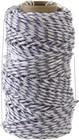 Фал плетёный полипропиленовый СИБИН 16-прядный с полипропил. сердечником, диаметр 6 мм, бухта 100 м
