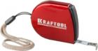 Рулетка KRAFTOOL, компактная, автостоп, цельнометрический корпус, с ремешком, 2 м х 8 мм