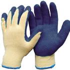 Перчатки трикотажные с рифленным латексом (шт.)