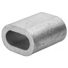 Зажим троса DIN 3093 алюминиевый, 2мм, 2 шт, ЗУБР Мастер 304476-02