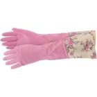 Перчатки хозяйственные латексные с манжетой, M Elfe
