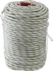 Фал плетёный капроновый СИБИН 24-прядный с капроновым сердечником, диаметр 10 мм, бухта 100 м, 1300