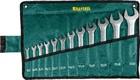 Набор рожковых гаечных ключей 12 шт, 6 - 32 мм, в сумке KRAFTOOL