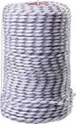 Фал плетёный полипропиленовый СИБИН 16-прядный с полипропиленовым сердечником, диаметр 8 мм, бухта 1