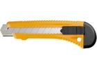 Нож,18 мм, выдвижное лезвие, металлическая направляющая// SPARTA