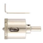 Сверло алмазное по керамограниту, 45 х 67 мм, 3-гранный хвостовик// MATRIX