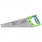 "Ножовка по дереву ""Зубец"", 450 мм, 7-8 TPI, зуб 3D, каленый зуб, 2-х компонентная рукоятка// Сибртех"