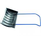 Движок для снега 790 х 450, пластиковый с алюм. планкой, П-образная ручка // СИБРТЕХ Россия