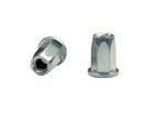 Заклепка сталь. с внутр. резьб. шестигр. 1/2 цилиндр. борт BRALO М4 (500 шт)