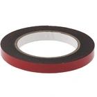 Лента клейкая на вспененной основе усиленная, двусторонняя, черная, 12 мм х 5 м// MATRIX