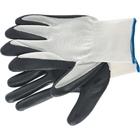 Перчатки полиэфирные с чёрным нитрильным покрытием маслобензостойкие, L, 15 класс вязки// Palisad