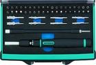 Отвертка с набором бит и торцевых головок для точных работ, Гибкий привод. 48 штук, CrMo//Gross