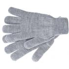 Перчатки трикотажные, акрил, двойные, цвет: серая туча, двойная манжета Сибртех Россия