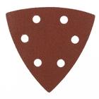 """Треугольник абразивный на ворсовой подложке под """"липучку"""", перф., P 180, 93 мм, 5 шт.// MATRIX"""