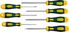Набор X-Drive, KRAFTOOL 250081-H7: Отвертки профессиональные, SL: 3,0x80, 5,5x100, 6,5x125, 8,0x150;
