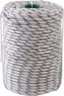 Фал плетёный полипропиленовый СИБИН 24-прядный с полипропиленовым сердечником, диаметр 10 мм, бухта