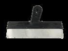 Шпатель Lux нержавеющая сталь зубчатый 350 мм (10 х 10) ПИ