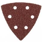 """Треугольник абразивный на ворсовой подложке под """"липучку"""", перф., P 40, 93 мм, 5 шт. MATRIX"""