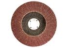 Круг лепестковый торцевой КЛТ-1, зернистость Р 80, 180 х 22,2 мм //Россия