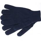 Перчатки трикотажные, акрил, двойные, цвет:синий,двойная манжета Сибртех Россия