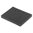 Губка для шлифования, 125 х 100 х 10 мм, мягкая, P40 // MATRIX