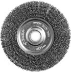 """Щетка дисковая для точильно-шлиф. станка, 125х12,7 витая стальная проволока 0,3м ЗУБР """"ПРОФЕССИОНАЛ"""""""