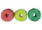 Набор шпагатов полипропиленовых, 6 шт х 60 м, разные цвета, 1200 текс, 50 кгс// СИБРТЕХ // Ро