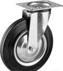 Колесо d=250 мм, г/п 210 кг, резина/металл, игольчатый подшипник, ЗУБР