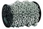 Цепь ЗУБР короткозвенная, DIN 766 оцинкованная сталь, d=8мм, L=15м
