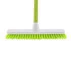 """Щетка пластм.  """"SHROBER"""" для чистки ковров 270 мм, салат. щетина, c черенком, 120 см, D22мм// ELFE"""