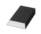 """Губка шлифовальная STAYER """"MASTER"""" угловая, зерно - оксид алюминия, Р120, 100 x 68 x 42 x 26 мм, сре"""