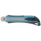 Нож 170 мм, обрезин. ABS - корпус, выдв.сегм.лезвие 18 мм (SK-5), металлическая направляющая + 5 лез