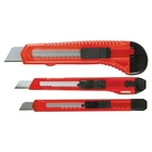 Набор ножей, выдвижные лезвия 9-9-18 мм, 3 шт. // MATRIX