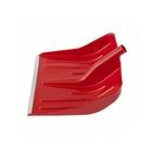 Лопата снеговая красная, 400 х 420 мм, без черенка, пласт., алюм. окантовка// СИБРТЕХ Россия