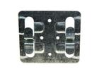Кляймер для керамогранита рядовой 70 х 10 х 1 мм оцинкованный