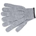 Перчатки трикотажные, акрил, цвет: серая туча, оверлок Сибртех Россия