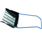 Скрепер для снега 500 х 670 мм, пластиковый, П-образная ручка, метал. окант. // СИБРТЕХ Россия