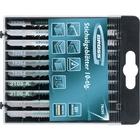 Пилки для электролобзиков универсальные, DIY, пластиковый кейс, 10 шт // GROSS