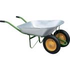Тачка садовая, два колеса, грузоподъемность 170 кг, объем 78л // PALISAD