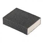 Губка для шлифования, 100 х 70 х 25 мм., средняя плотность, P80 MATRIX