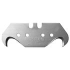 """Лезвия KRAFTOOL """"PRO"""" SOLINGEN сменные крюковид,для универ ножей,легир сталь,многоур закалка,Тип S23"""