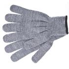 Перчатки трикотажные, акрил, цвет: серое мулине, оверлок Сибртех Россия